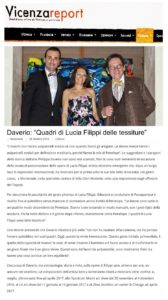 """Daverio_ """"Quadri di Lucia Filippi delle tessiture"""""""